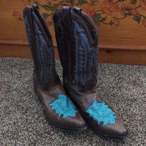 Ladies Ostrich Nocona Boots
